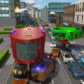 消防员陀螺巴士模拟器游戏