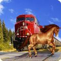 逃脱疯狂的火车模拟器游戏