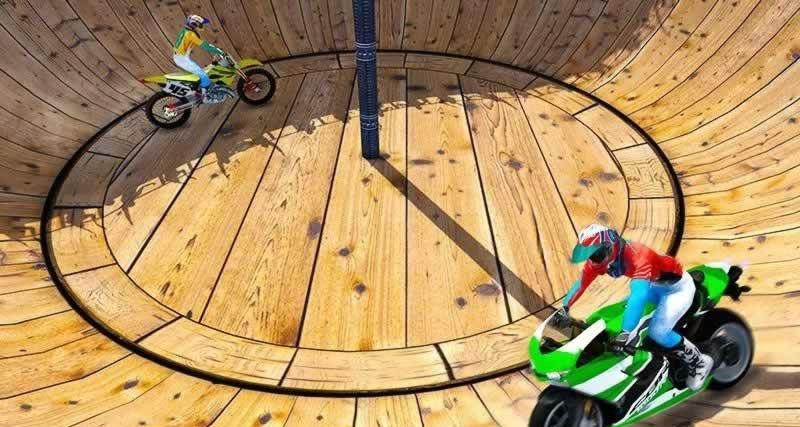摩托车特技驱动器游戏安卓版  v1.0图4