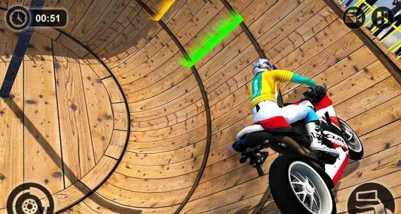 摩托车特技驱动器游戏安卓版  v1.0图2