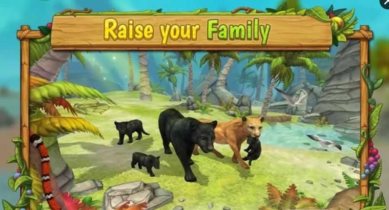豹子家族模拟器破解版(Panther Family Sim)  v2.7.2图1