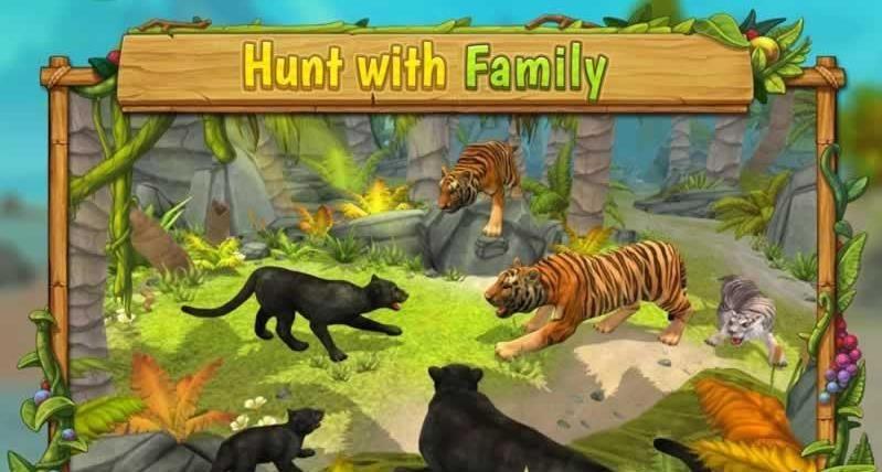 豹子家族模�M器破解版(Panther Family Sim)  v2.7.2�D5