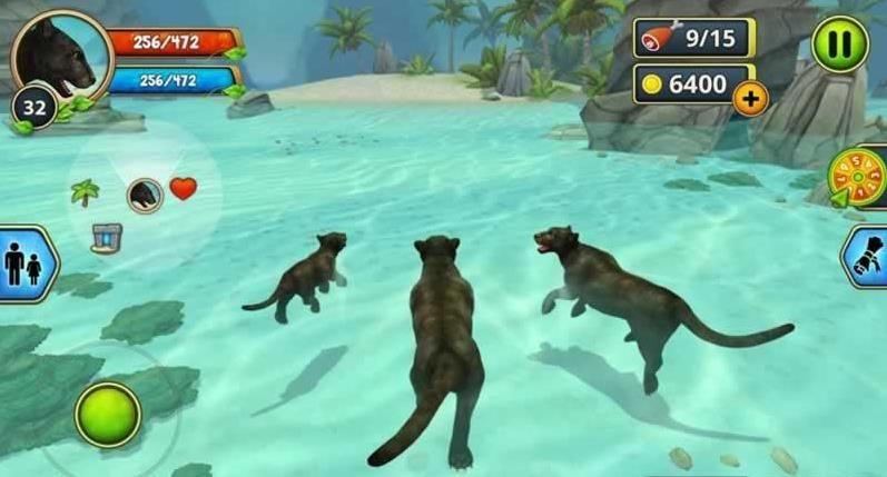 豹子家族模�M器破解版(Panther Family Sim)  v2.7.2�D2