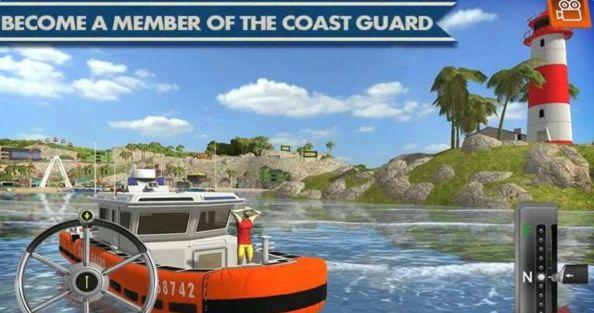 海岸交通工具模拟驾驶游戏安卓版  v1.1图1