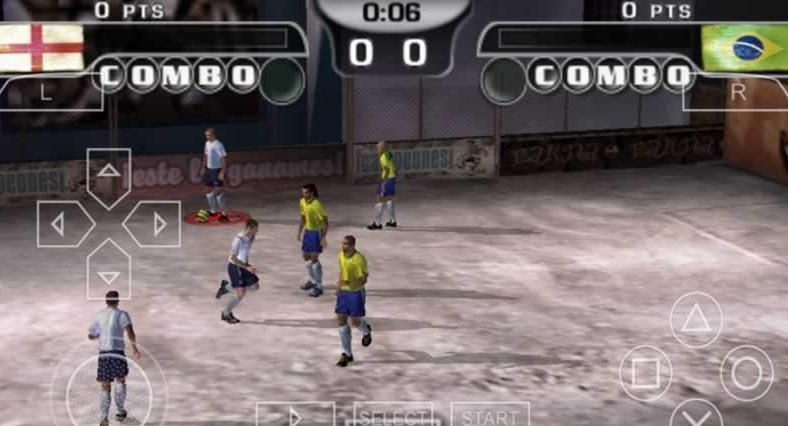 FIFA街头足球2手机游戏(含数据包)  v1.2图5