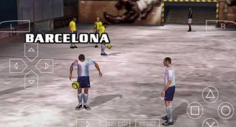 FIFA街头足球2手机游戏(含数据包)  v1.2图3