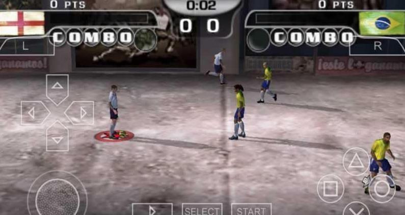 FIFA街头足球2手机游戏(含数据包)  v1.2图4