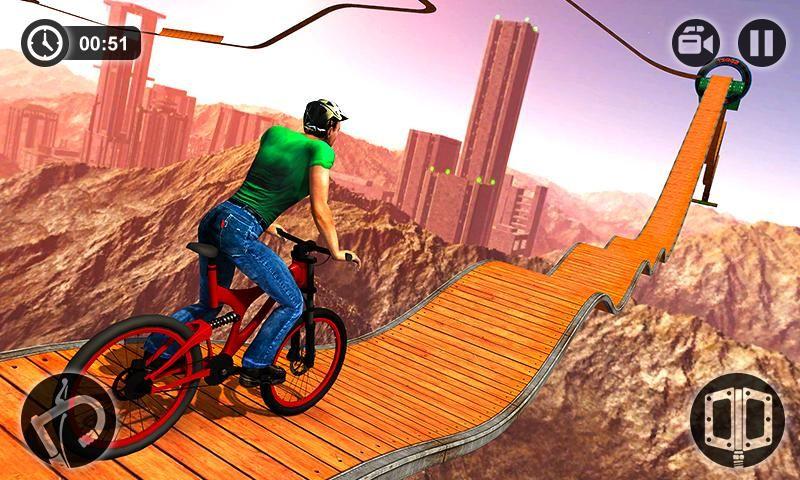 不可能的BMX自行�特技游�虬沧堪�  v1.0�D2