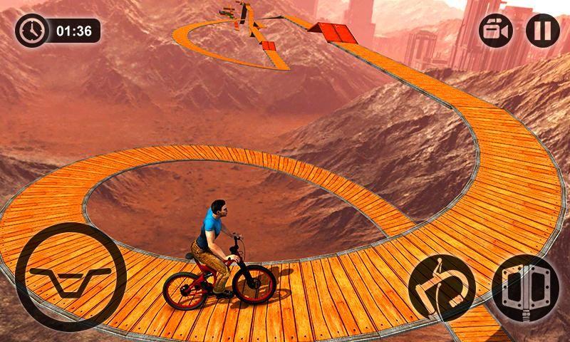 不可能的BMX自行�特技游�虬沧堪�  v1.0�D3