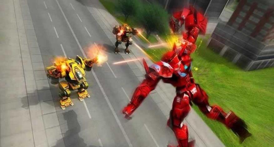 变形机器人英雄中文汉化版  v1.0图2