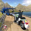 越野摩托车警方运输模拟器破解版