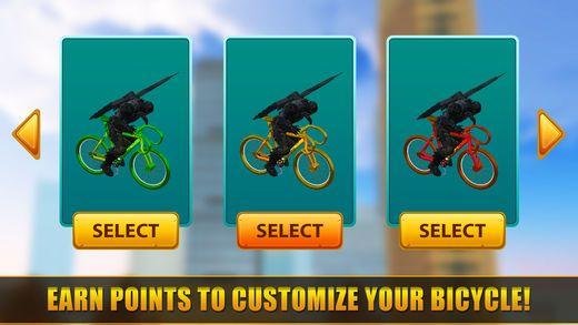超级英雄快乐自行车比赛手游安卓版  v1.0图2