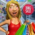 超级市场购物女孩游戏