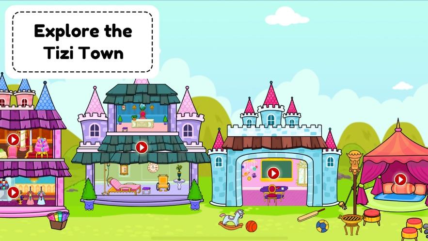 我的tizi世界玩城镇游戏官方版  v1.0图4