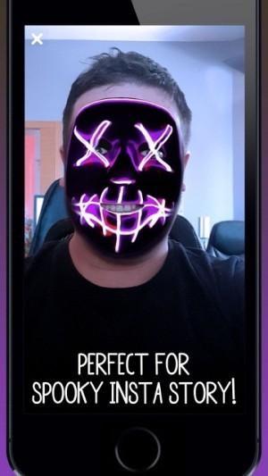 万圣节面具相机app图2
