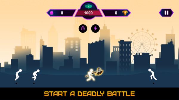 黑暗世界猎人棍棒枪游戏安卓版  v1.0图4
