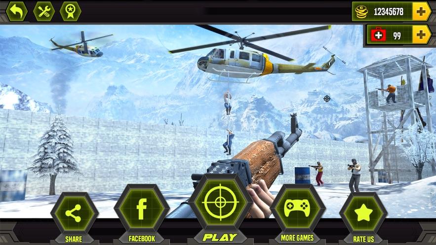 反恐射击手任务游戏安卓版  v1.0图1