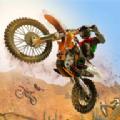沙漠自行车特技大师游戏