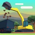城市建造挖掘机游戏