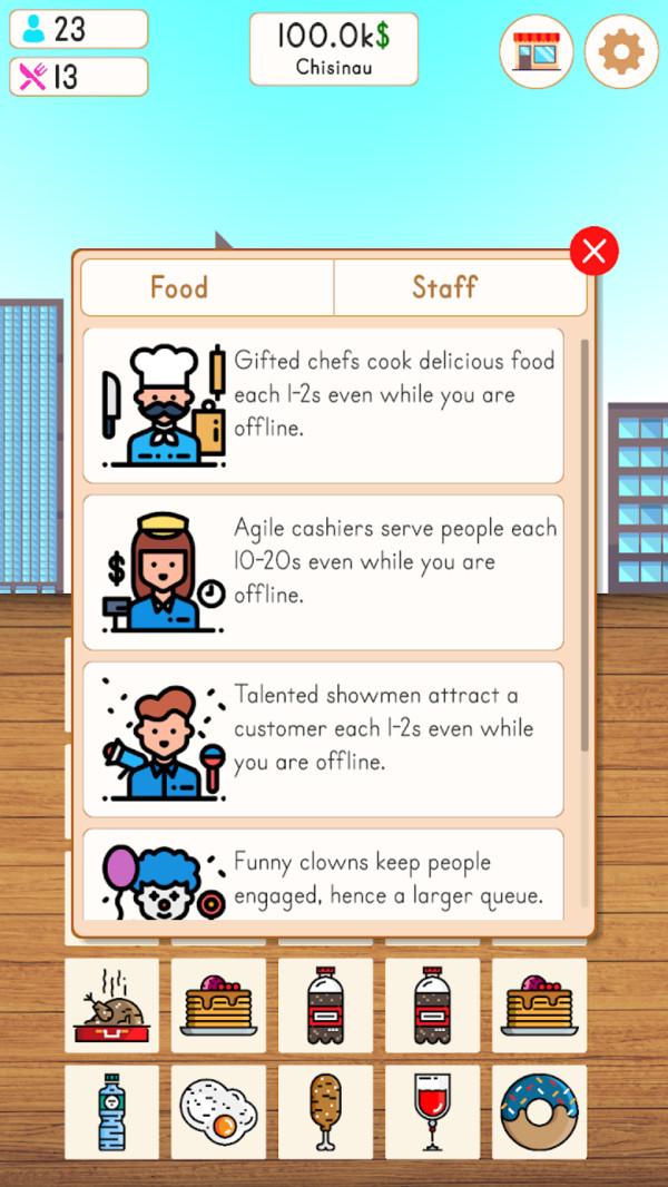 快餐厅大亨游戏安卓版  v1.0图4