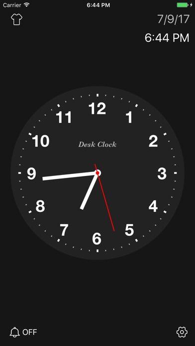 抖音全屏纯文字时钟计时器app手机版  v1.0图3