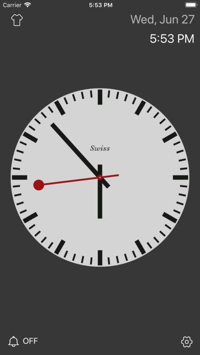 抖音全屏纯文字时钟计时器app手机版  v1.0图5