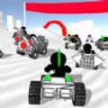 火柴人汽车比赛游戏