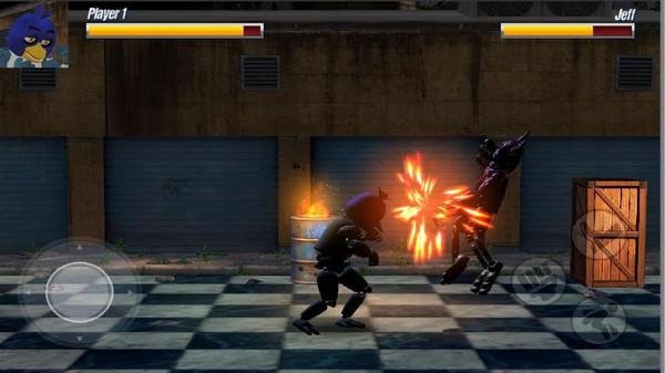 街头电子战斗机游戏安卓版  v1.0图1