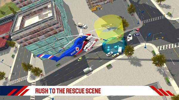 消防直升机救援游戏安卓版  v1.1图1