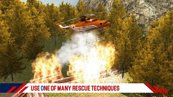 消防直升机救援游戏安卓版  v1.1图2