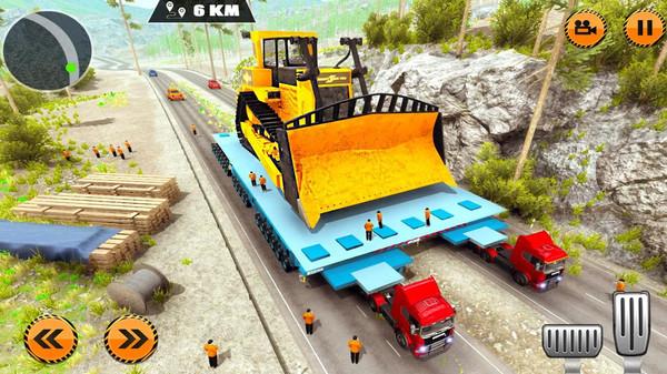 重型货物拖车驾驶模拟游戏安卓版  v1.0图4