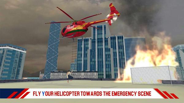消防直升机救援游戏安卓版  v1.1图3