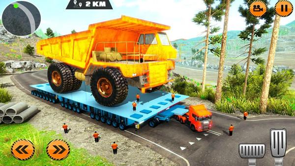 重型货物拖车驾驶模拟游戏安卓版  v1.0图1
