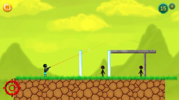 火柴人子弹射击游戏安卓版  v1.9图3