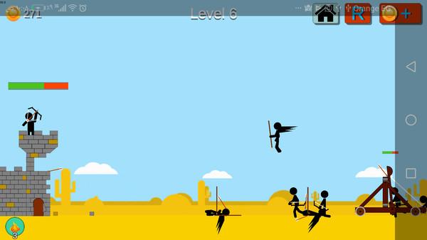城堡弓箭手游戏安卓版  v2.0图1