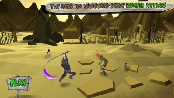 忍者战士大战僵尸游戏安卓版  v1.0.0图1