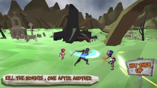 忍者战士大战僵尸游戏安卓版  v1.0.0图3