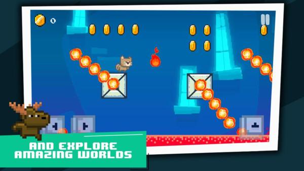 超级像素猫冒险游戏安卓版  v1.0图5