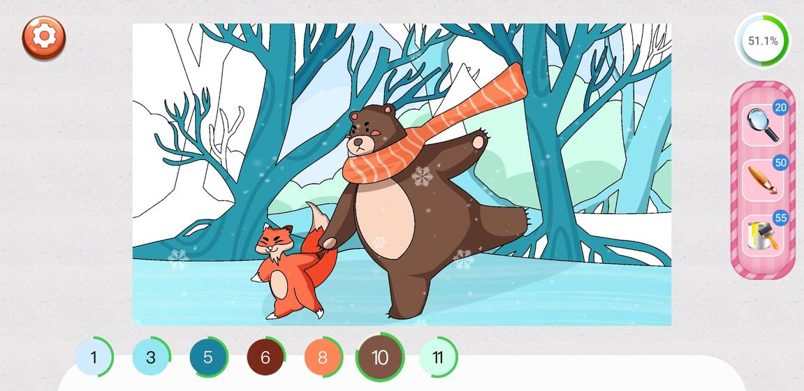 涂色小家游戏安卓版  v1.0图2