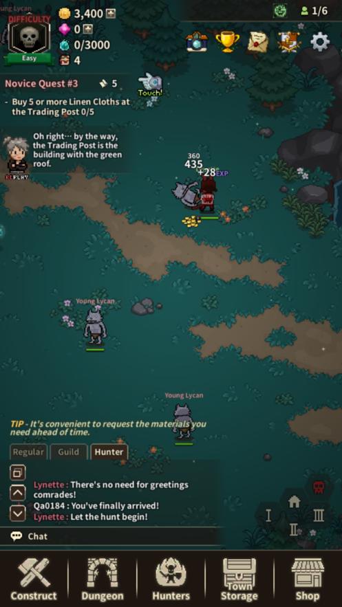邪恶猎手大亨游戏安卓版(Evil Hunter Tycoon)  v1.0图1