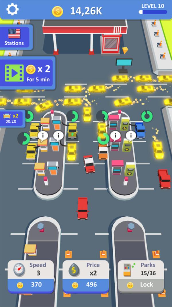 闲置加油站大亨游戏安卓版  v1.4.10图3