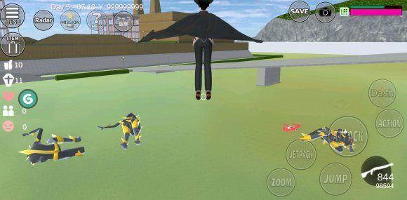 樱花校园模拟器外星人怎么打?合理技巧助你轻松击败外星人[多图]图片1