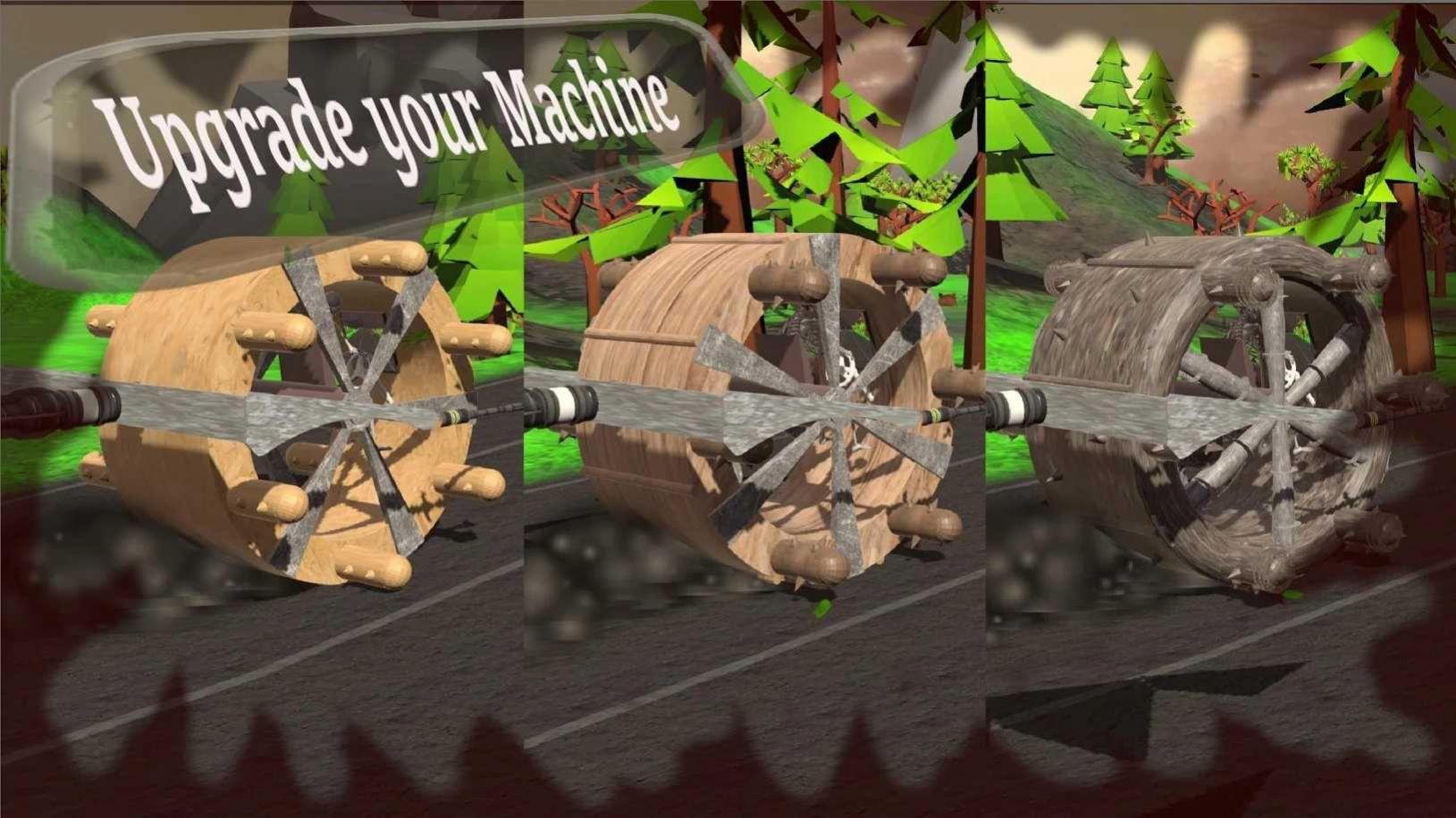 僵尸碾压机游戏中文安卓版  v1.05图2