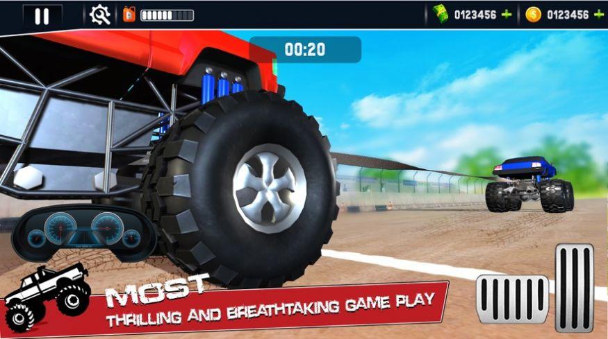 怪物卡车拔河模拟游戏无限金币破解版  v1.0图4