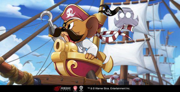 猫和老鼠s5赛季黄金货架皮肤是哪款?海盗杰瑞海洋领主上线预告[多图]