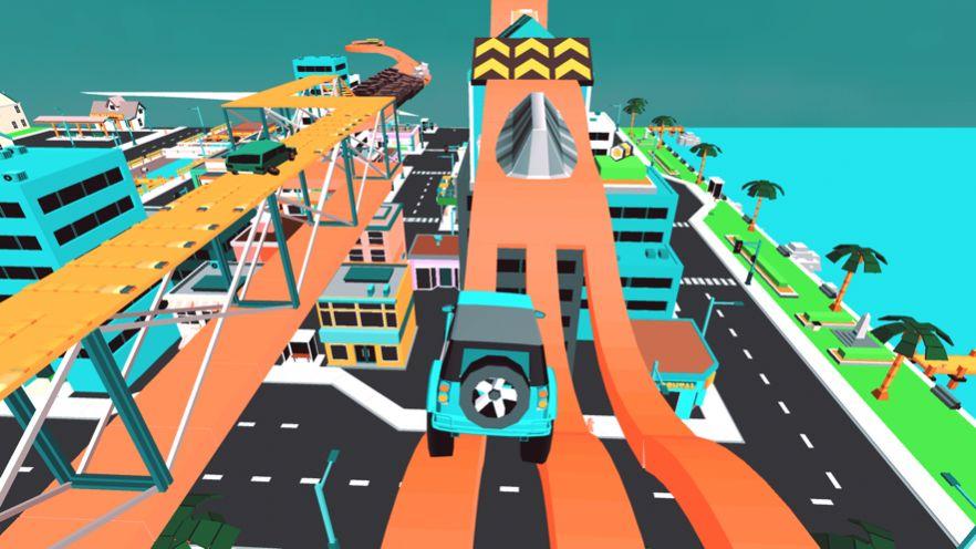半卡车货物运输游戏安卓版  v1.0图1