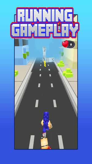 像素索尼克跑酷游戏图1