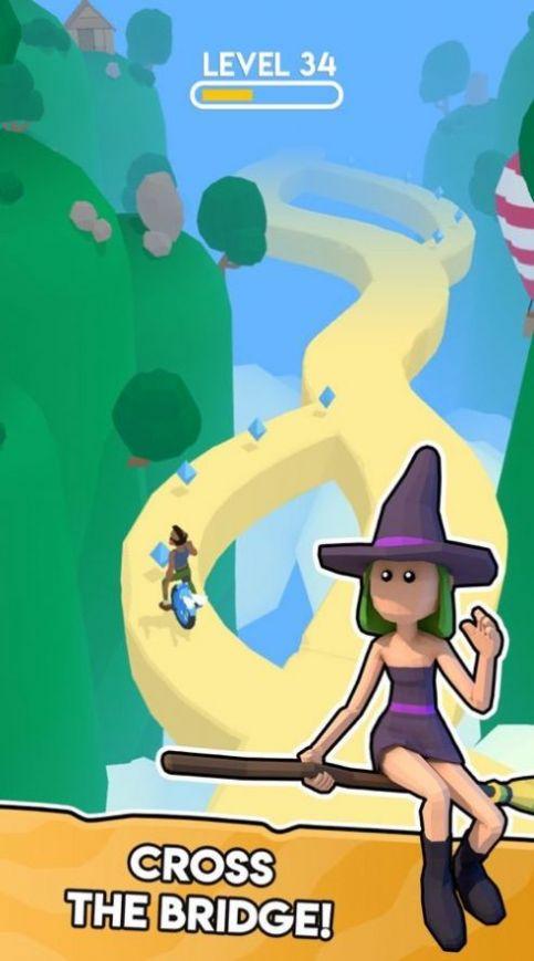 一个轮子的冒险游戏安卓版  v1.0.5图1