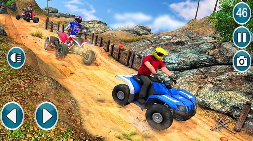 四边形自行车越野驾驶游戏安卓版  v1.0图3