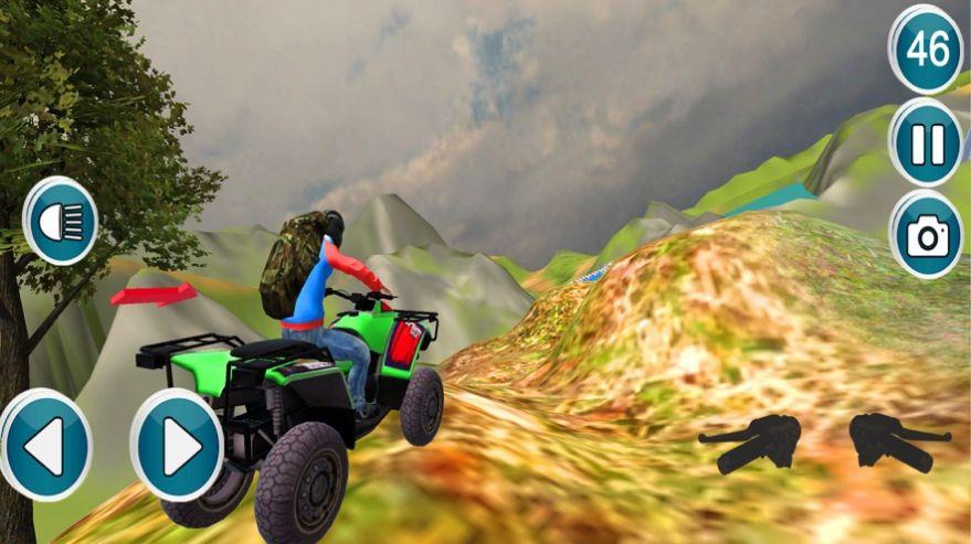 四边形自行车越野驾驶游戏安卓版  v1.0图2